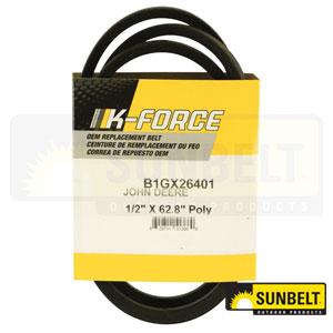 B1GX26401: John Deere Traction Belt