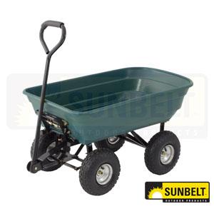 Precision Mighty Yard Dump Cart