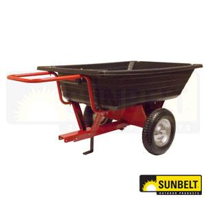 Precision Equipment Poly Dump Cart