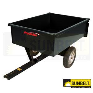Precision Equipment Steel Dump Cart