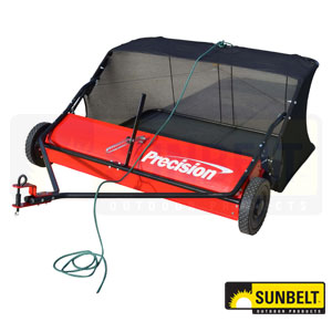 """Precision 38"""" Tow Behind Lawn Sweeper"""
