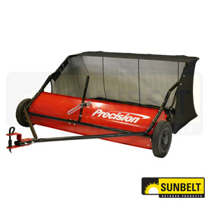 """Precision 48"""" TTow Behind Lawn Sweeper"""