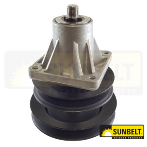 B1MT75: Spindle Assembly for MTD, Troy-Bilt, Toro mowers