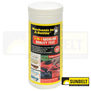 B1SB968: 2-in-1 Gasoline Quality Test Kit