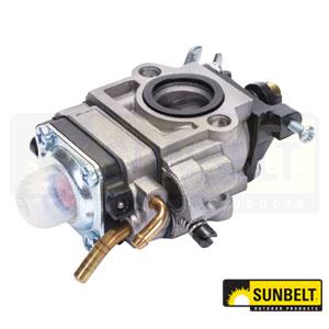 B1WBWWYK192A: Walbro Carburetor. Replaces Echo A021000811, Walbro WYK-192, WYK-191-1