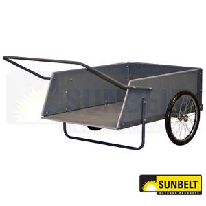 Precision Wooden Garden Cart