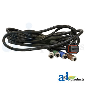 A-CBL4640 Cable, G4 4640 John Deere Display, 4 Wired Camera ... on