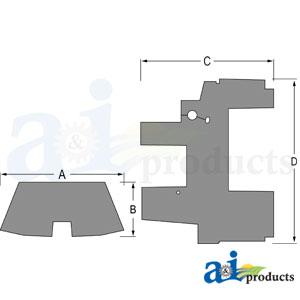 Floor Mat A-CFM455