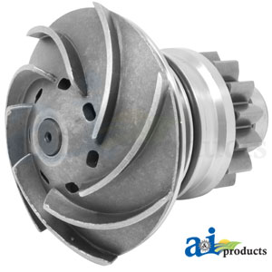 DZ102107 Water Pump. Fits John Deere Tractors, Combine, Industrial/Construction, Forage Harvester, Sprayer
