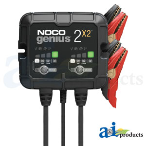 NOCO GENIUS2X2 2-Bank Battery Charger