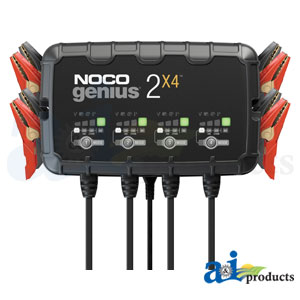 NOCO GENIUS2X4 4-Bank Battery Charger
