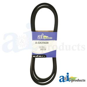 A-GX25628 Deck Belt. Fits John Deere Zero-Turn Mowers Z335E Z-TRAK, Z335M Z-TRAK, Z345M Z-TRAK, Z345R Z-TRAK