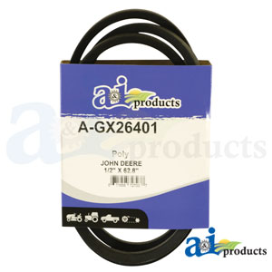 A-GX26401 Drive Traction Belts. Fits John Deere Zero-Turn Mowers