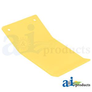 A-H204221 Poly Skid Plate. Fits John Deere Cutting Platform Heads 620F, 622F, 625F, 630F, 635F