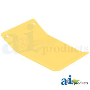 A-H205344 Poly Skid Plate. Fits John Deere Cutting Platform Heads 615F, 618F, 620F, 622F, 625F, 630F, 635F