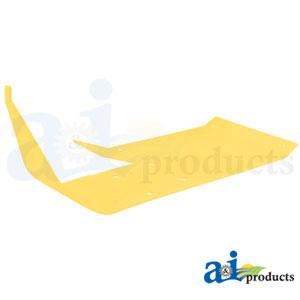 A-H218047 Skid Plate. Fits John Deere Cutting Head Platforms 600F, 615F, 618F, 620F, 622F, 625F, 630F, 635F