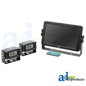 "A-HD10M2CQ 10"" Quad Touch Screen CabCAM™ Systems"