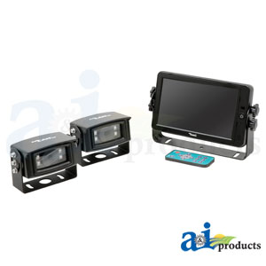 "A-HD7M2CQ 7"" Quad Touch Screen CabCAM™ Systems"