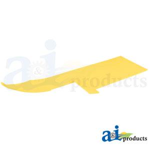 A-HXE59505 Poly Skid Plate. Fits John Deere Cutting Head Platform 630FD, 635FD, 640FD