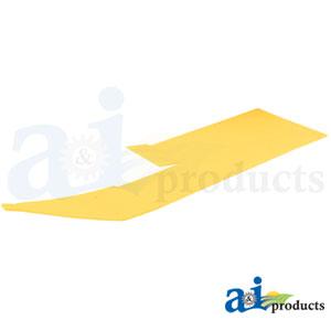 A-HXE59506 Poly Skid Plate. Fits John Deere Cutting Head Platform 630FD, 635FD, 640FD