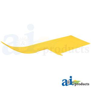 A-HXE87670 Poly Skid Plate. Fits John Deere Cutting Head Platform 630FD, 635FD, 640FD, 645FD