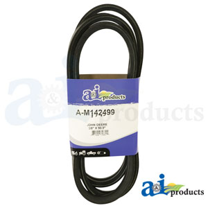 A-M142499 Drive Traction Belts. Fits John Deere Riding Mowers GX325, GX335, GX345, GX355
