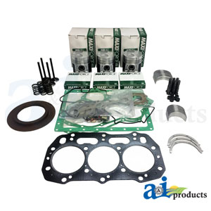 A-OK403C: Major Engine Overhaul Kit for Compact Tractors D35, DX34, DX35, Farmall 35