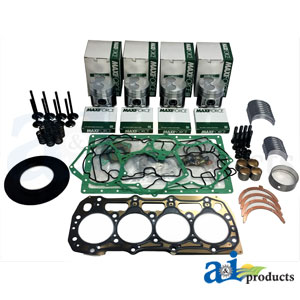 A-OK404D Major Overhaul Engine Kit. Fits Case-IH Compact Tractors DX55, DX60 Farmall 60