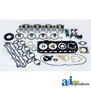 A-OK4TNE88 Major Overhaul Kit. Fits Komatsu Skid Steer Loader SK714
