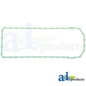 A-R521498 Oil Pan Gasket for John Deere. Fits Oil Pan RE525238