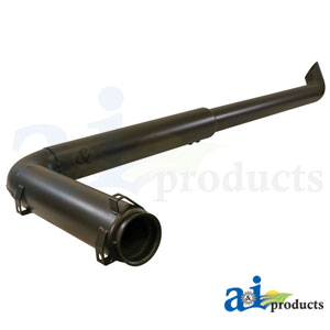 A-RE175775 Exhaust Pipe. Fits John Deere Tractors 7600, 7610, 7710, 7810