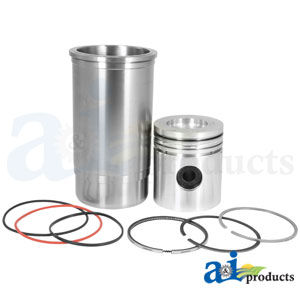 A-RE23160HC Piston Liner Kit for John Deere 6600, 7700 Combines, 4040 Tractor