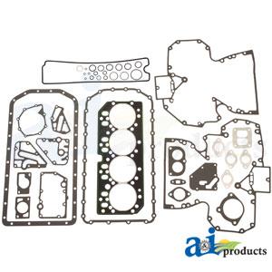 A-RE527042: John Deere Complete Overhaul Gasket Set