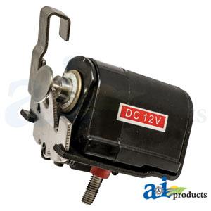 RE62240 Fuel Injection Pump Shutoff Solenoid. Fits John Deere Engines.