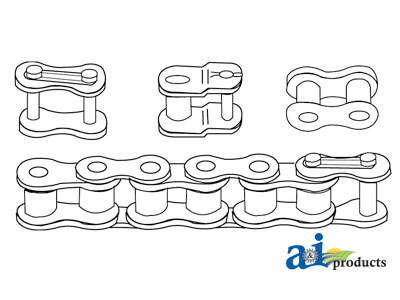 A-RC60DX50IMP Double Roller Chain