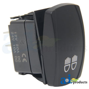 RS100G Rectangle Rocker Switch