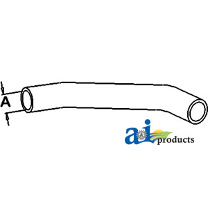 A-SBA310160932 Radiator Hose, Upper Ford / New Holland COMPACT ... on