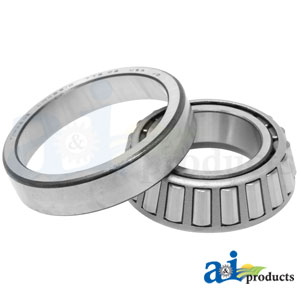 0000000BC Outer Front Wheel Bearing Set