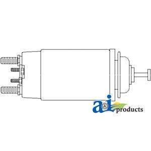 A 70271857 solenoid starter 12 volt allpartsstore a 70271857 publicscrutiny Images