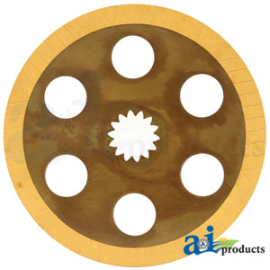 A-SJ18395 Brake Disc for John Deere Tractors 5045D, 5055D, 5103, 5103E, 5103S, 5104, 5105, 5203, 5204