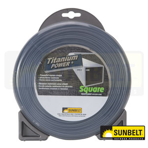 Titanium Power Square Trimmer Line