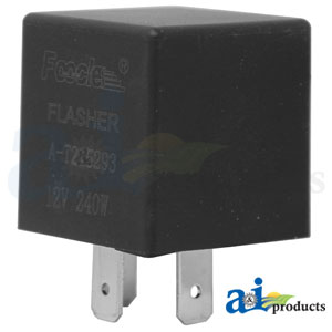 T215293 Flasher Module. Fits Industrial/Construction, Skid Steer Loaders, and Compact Track Loaders.
