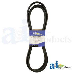 A-TCU30510 Deck Drive Belt for John Deere Zero Turn Mowers Z915B Z-TRAK, Z920M Z-TRAK, Z925M Z-TRAK, Z930M Z-TRAK, Z930R Z-TRAK, Z950M Z-TRAK, Z950R Z-TRAK, Z960R Z-TRAK
