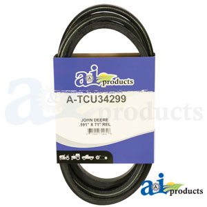 A-TCU34299 Traction Belt for John Deere Zero Turn mowers Z915B, Z920M, Z925M, Z930M, Z950M, Z960R