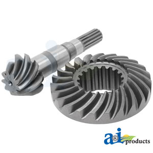 TD030-12010 Front Axle Bevel Gear Assembly. Fits Kubota Compact Tractors.