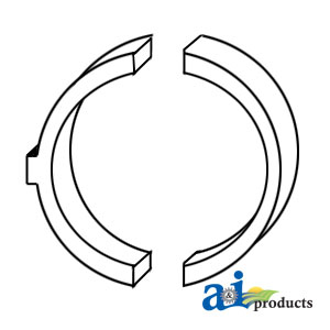 A-199266200/10 Thrust Washer Set