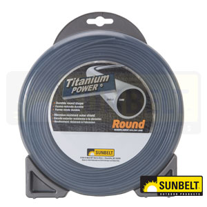 Titanium Power Round Trimmer Line
