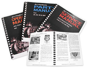 Operator, Service, and Parts Manuals