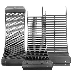 Concaves: Helical Bar, Round Bar, Wide Wire, Narrow Wire, Slotted, and Grate Finger